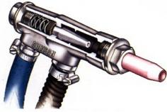 Injectie straalcabine straalpistool